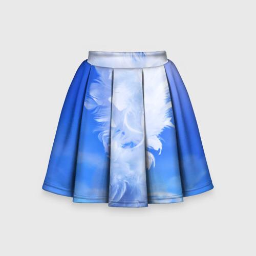 Детская юбка-солнце 3D Сердце