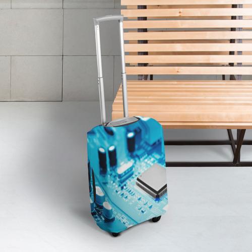 Чехол для чемодана 3D  Фото 03, Материнская плата