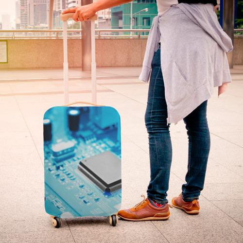 Чехол для чемодана 3D  Фото 04, Материнская плата