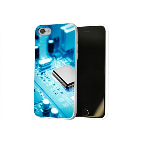 Чехол для Apple iPhone 8 силиконовый глянцевый  Фото 02, Материнская плата