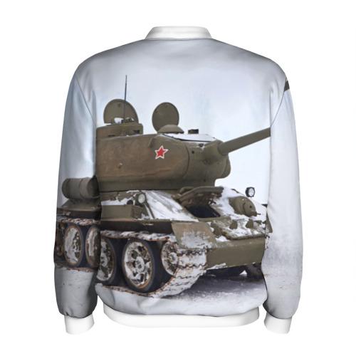 Мужской бомбер 3D  Фото 02, Танк т34-85