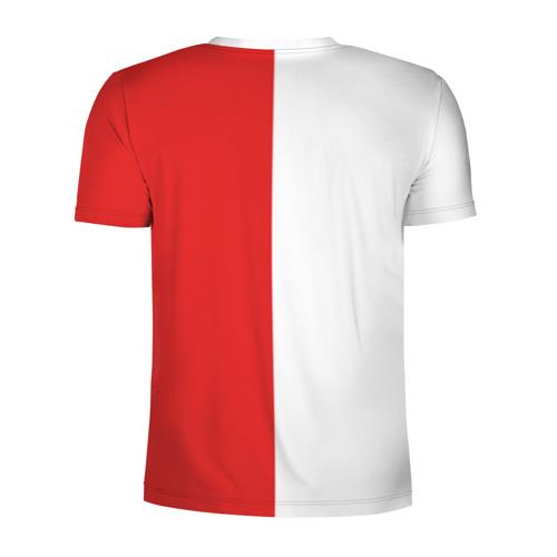 Мужская футболка 3D спортивная  Фото 02, Детройт Ред Уингз