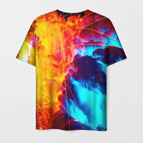 Мужская футболка 3D Вулканический Фото 01