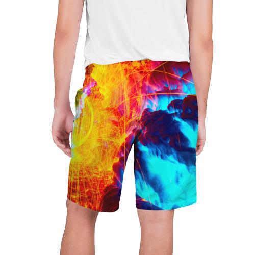 Мужские шорты 3D Вулканический Фото 01