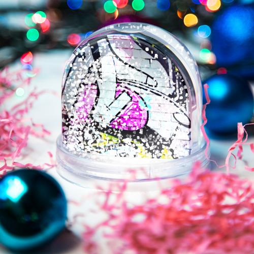 Водяной шар со снегом  Фото 04, Абстрактный