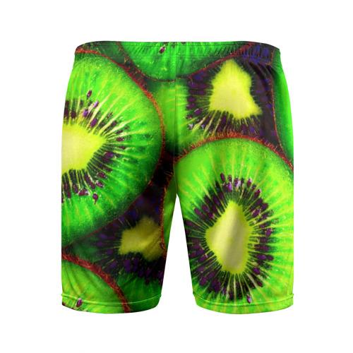 Мужские шорты 3D спортивные  Фото 02, Киви