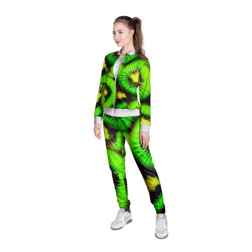 Женская олимпийка 3D  Фото 05, Киви