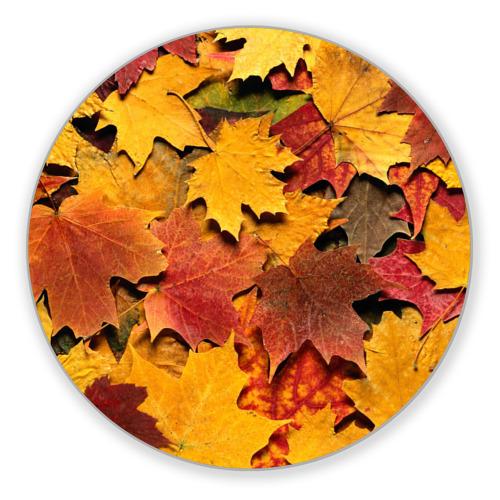Коврик круглый Осень на дворе от Всемайки