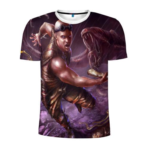 Мужская футболка 3D спортивная  Фото 01, Риддик