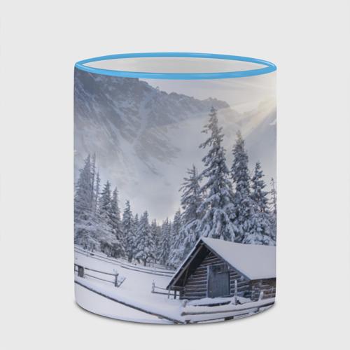 Кружка с полной запечаткой Зима Фото 01