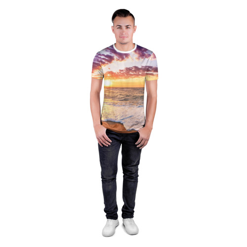 Мужская футболка 3D спортивная  Фото 04, Sunset