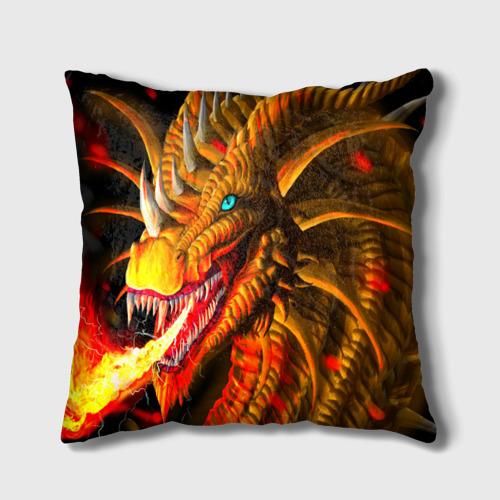 Подушка 3D  Фото 02, Дракон