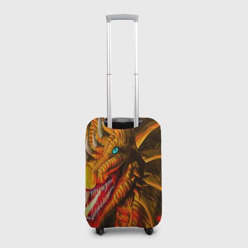 Чехол для чемодана 3D  Фото 02, Дракон