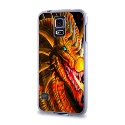 Чехол для Samsung Galaxy S5 силиконовый  Фото 03, Дракон