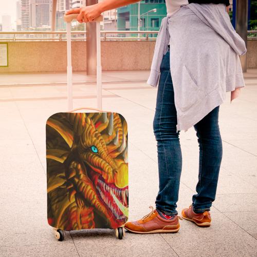 Чехол для чемодана 3D  Фото 04, Дракон