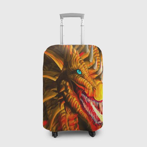 Чехол для чемодана 3D  Фото 01, Дракон