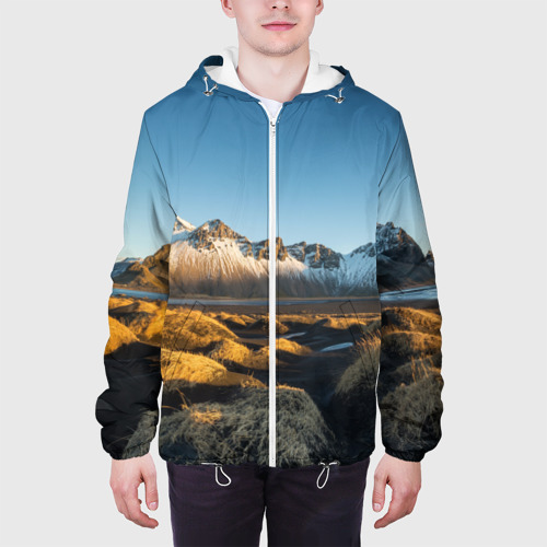Мужская куртка 3D  Фото 04, Горный хребет