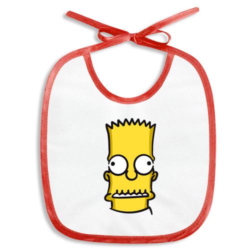 Слюнявчик  Фото 01, Bart Simpson