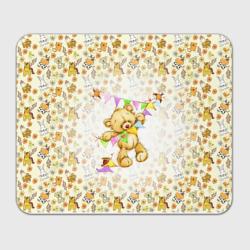 Мишка Тедди и флажки
