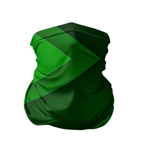 Бандана-труба 3D  Фото 01, Зелёные стрелы