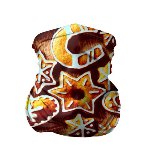 Бандана-труба 3D  Фото 01, Новогоднее печенье