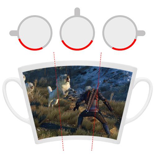 Кружка Латте Ведьмак 3: Дикая охота Фото 01