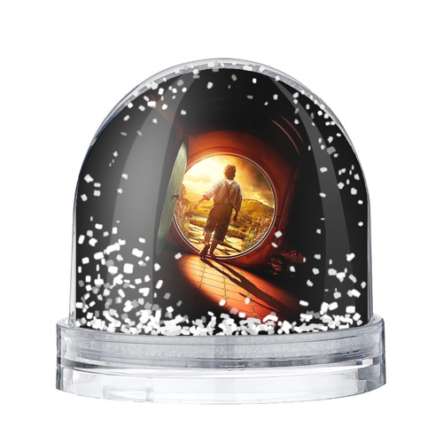 Водяной шар со снегом Хоббит