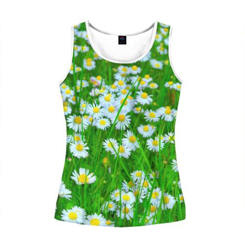 e5f1855a Ромашки (женская майка 3d) - купить прикольные футболки в Москве