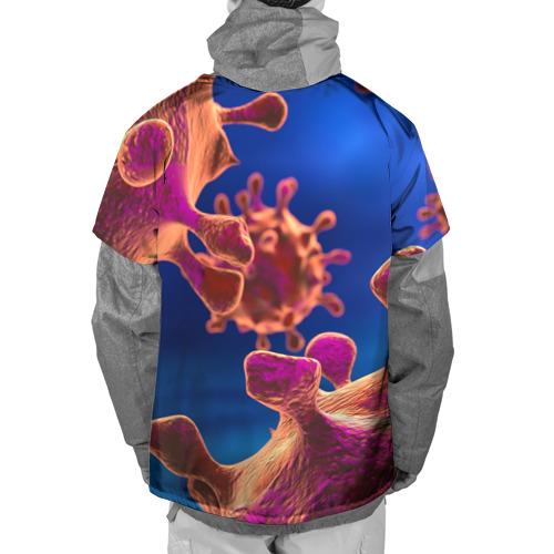 Накидка на куртку 3D  Фото 02, Бактерия