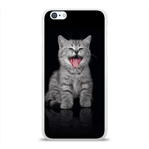 Чехол для Apple iPhone 6Plus/6SPlus силиконовый глянцевый  Фото 01, Котёнок