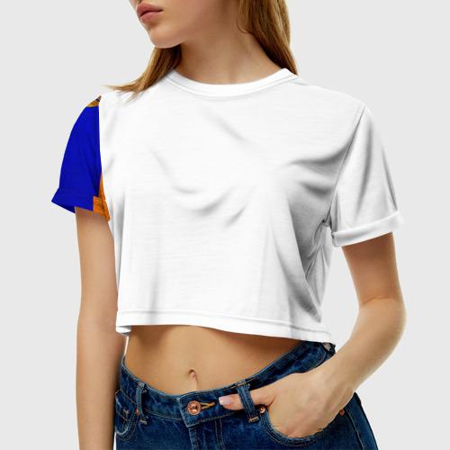 Женская футболка 3D укороченная  Фото 01, Армения