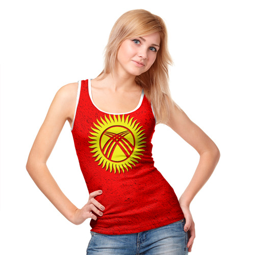 Женская майка 3D  Фото 05, Киргизия