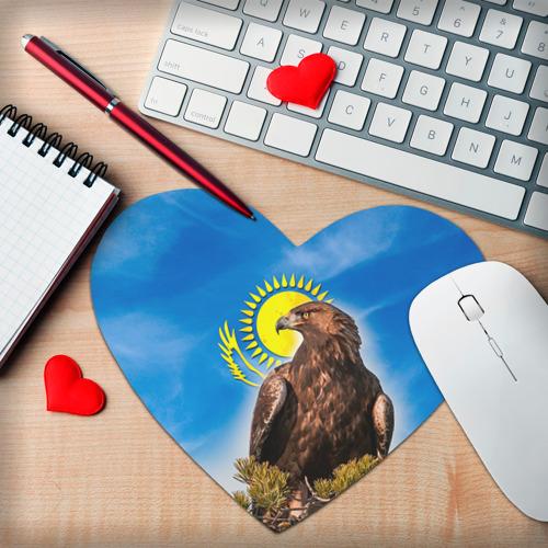 Коврик для мыши сердце  Фото 02, Беркут