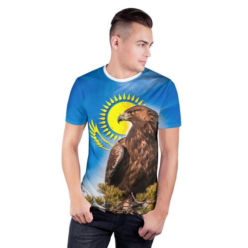 Мужская футболка 3D спортивная  Фото 03, Беркут