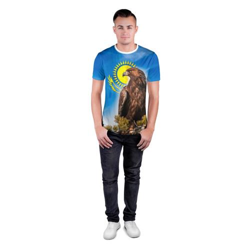 Мужская футболка 3D спортивная  Фото 04, Беркут