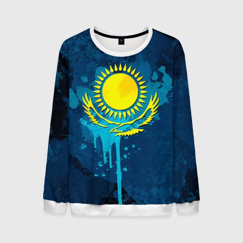 Мужской свитшот 3D Казахстан Фото 01