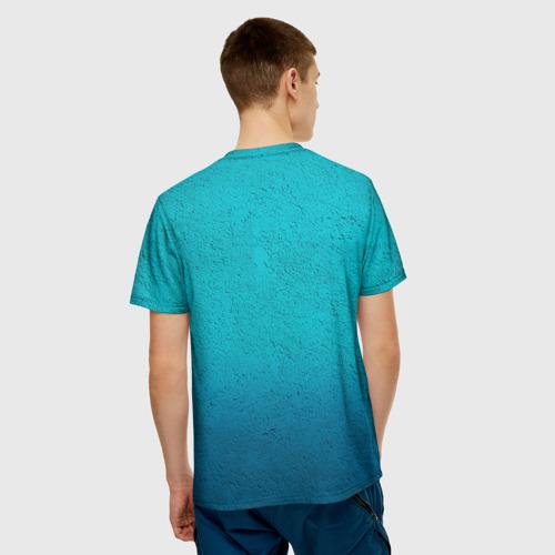 Мужская футболка 3D  Фото 02, Флаг Казахстана