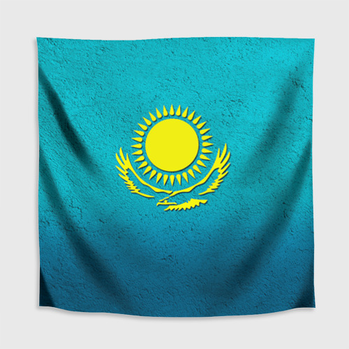 Скатерть 3D  Фото 02, Флаг Казахстана