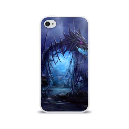 Чехол для Apple iPhone 4/4S силиконовый глянцевый  Фото 01, Портал