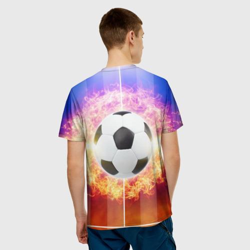 Мужская футболка 3D  Фото 02, Футбол - моя страсть