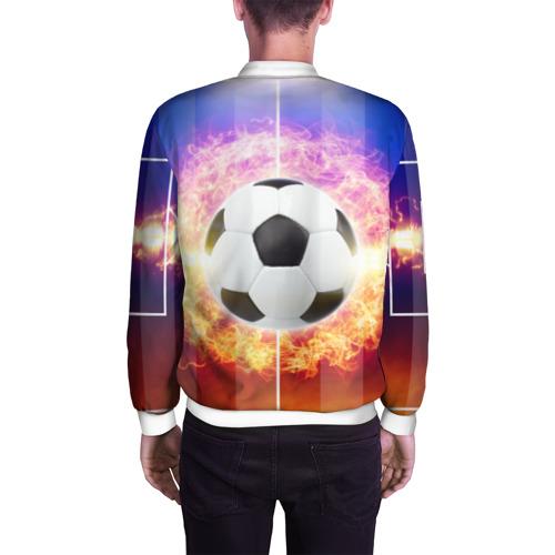 Мужской бомбер 3D  Фото 04, Футбол - моя страсть