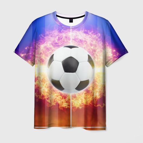 Мужская футболка 3D  Фото 03, Футбол - моя страсть