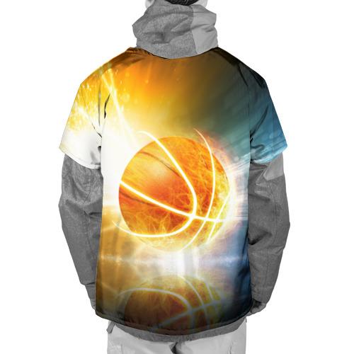 Накидка на куртку 3D  Фото 02, Баскетбол - жизнь моя