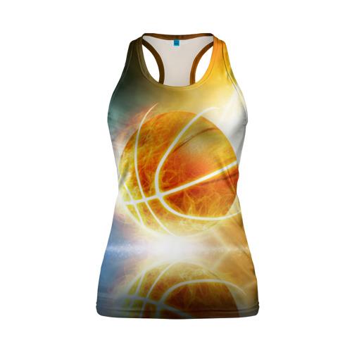 Женская майка 3D спортивная Баскетбол - жизнь моя