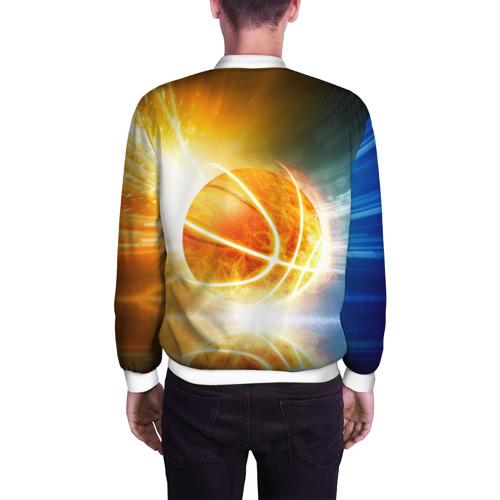 Мужской бомбер 3D  Фото 04, Баскетбол - жизнь моя