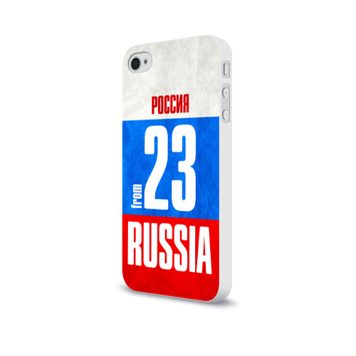 Чехол для Apple iPhone 4/4S soft-touch  Фото 03, Russia (from 23)