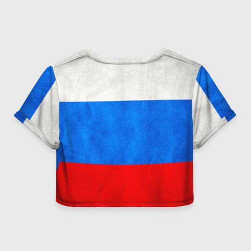 Женская футболка 3D укороченная  Фото 02, Russia (from 23)