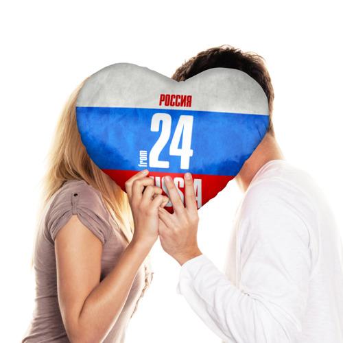 Подушка 3D сердце  Фото 03, Russia (from 24)