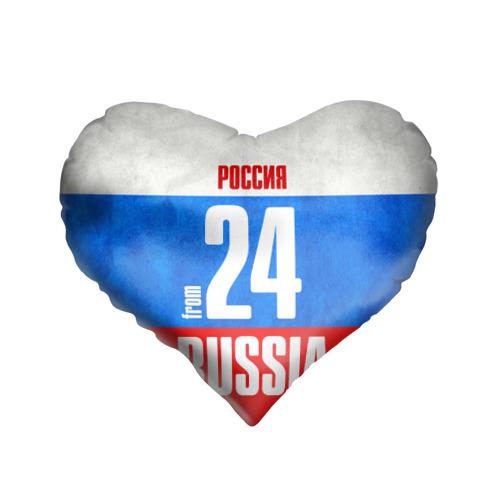 Подушка 3D сердце  Фото 01, Russia (from 24)