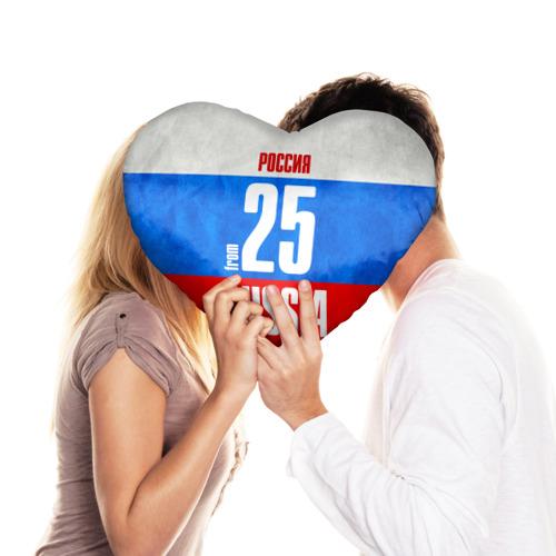Подушка 3D сердце  Фото 03, Russia (from 25)